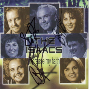 The Isaacs Increase My Faith CD - Autographed Country Music Memorabilia