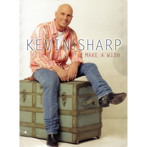 Kevin Sharp Make A Wish CD Single - Country Music Memorabilia