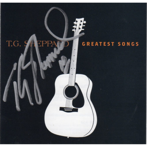 T.G. Sheppard Greatest Songs CD Autographed Country Music Memorabilia