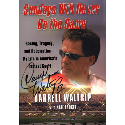 DARRELL WALTRIP Sundays Will Never Be The Same Book Autographed Signed