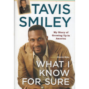 TAVIS SMILEY What I Know For Sure Book Autographed Signed
