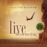 TIM McGRAW Live Like You Were Dying Gift Book & CD