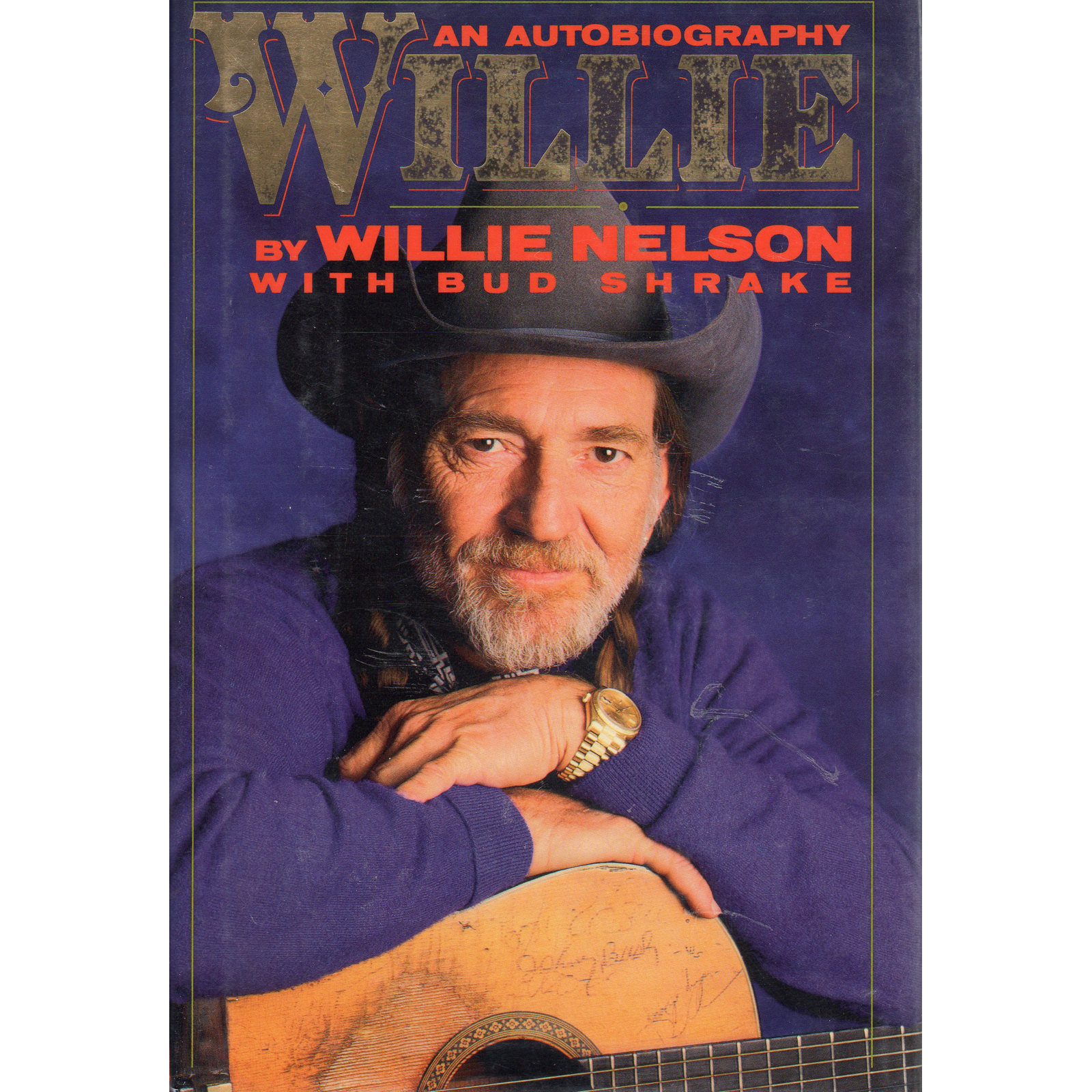 WILLIE NELSON An Autobiography Book