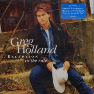 GREG HOLLAND Exception To The Rule CD