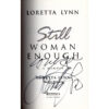 LORETTA LYNN Still Woman Enough Book Autographed Signed