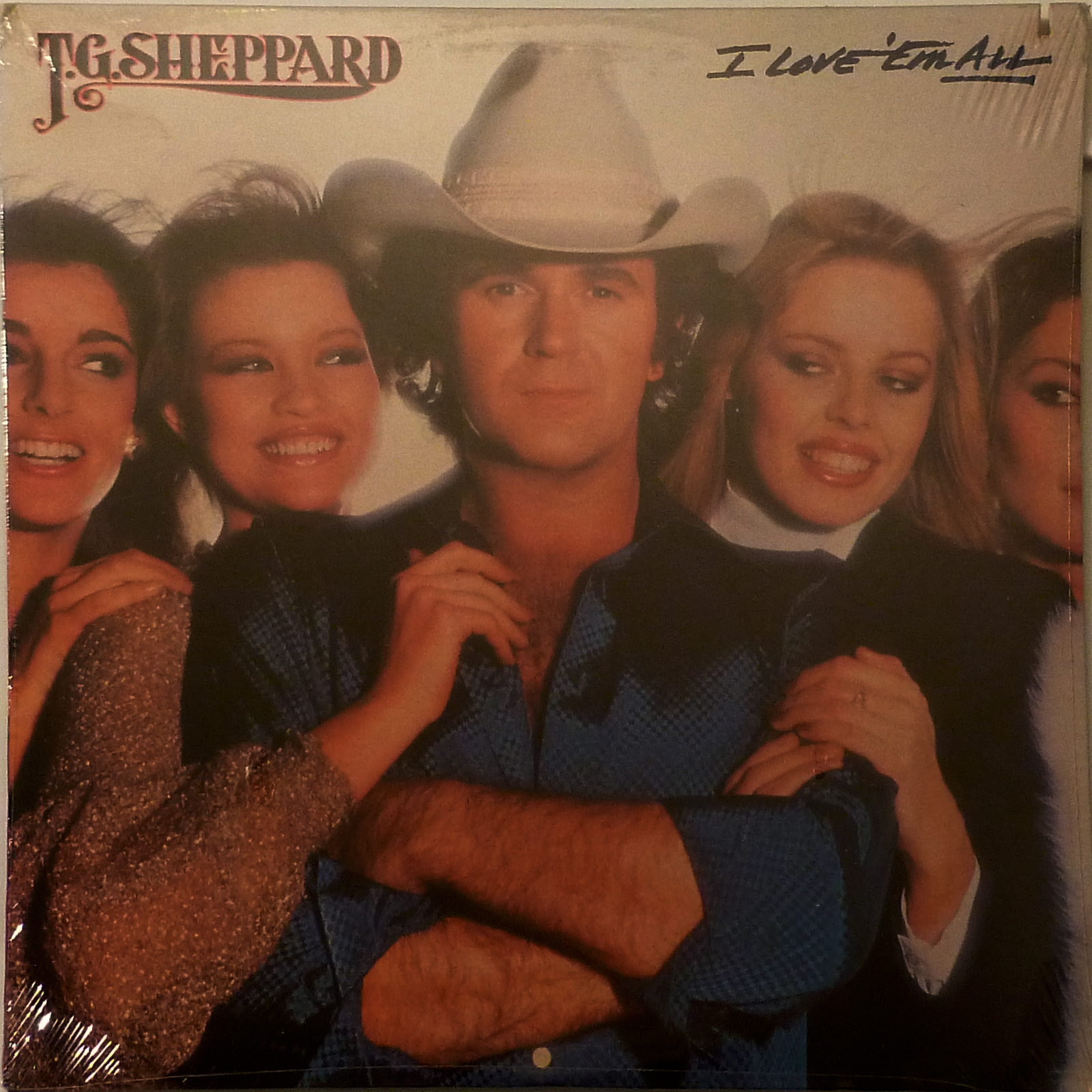 T.G. SHEPPARD I Love 'Em All LP