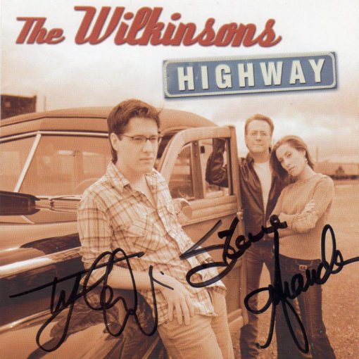 THE WILKINSONS Highway CD Signed Autographed