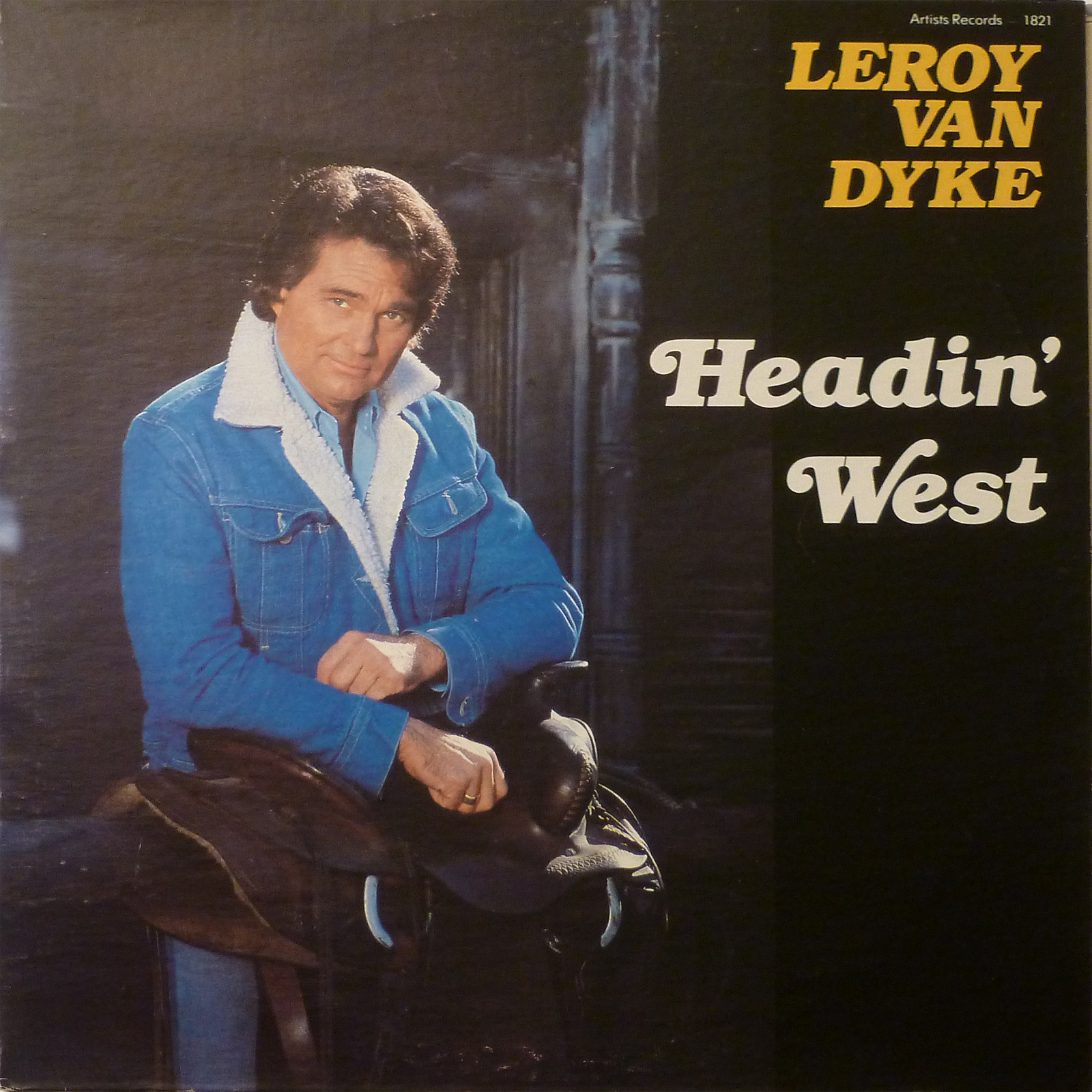 Leroy Van Dyke Headin' West LP