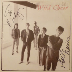 WILD CHOIR Autographed Signed LP
