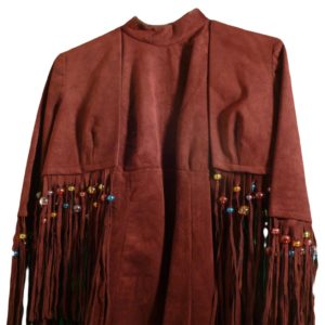 DONNA FARGO's Original Burgundy BILL BELEW Dress with Bolero Jacket