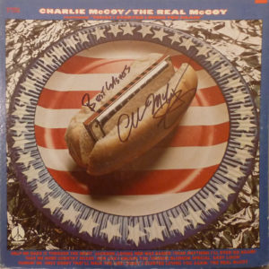 CHARLIE McCOY The Real McCoy LP Autographed Signed