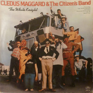 CLEDUS MAGGARD (& The Citizen's Band) The White Knight LP Autographed Signed