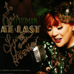LULU ROMAN At Last CD Autographed Signed