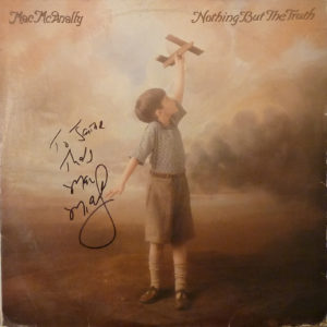 MAC McANALLY Nothing But The Truth LP Autographed Signed