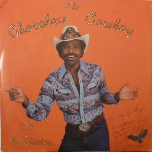 O.B. McCLINTON The Chocolate Cowboy LP Autographed Signed