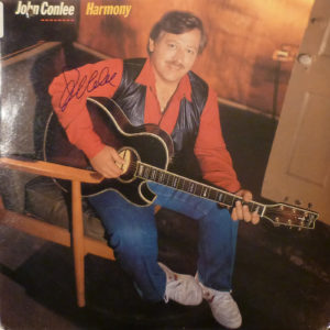 JOHN CONLEE / Harmony LP / Autographed Signed