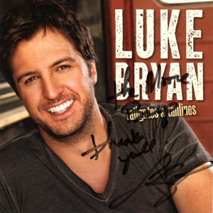 LUKE BRYAN Tailgates & Tanlines CD Autographed Signed