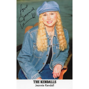 JEANNIE KENDALL 5.5×8.5 Photo Autographed Signed