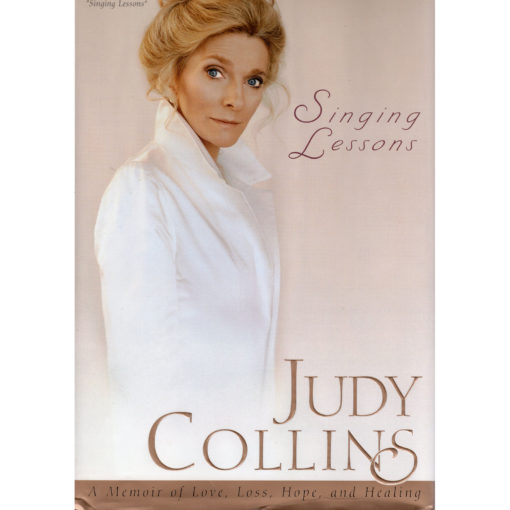 Judy Collins Singing Lessons Book Autographed Signed