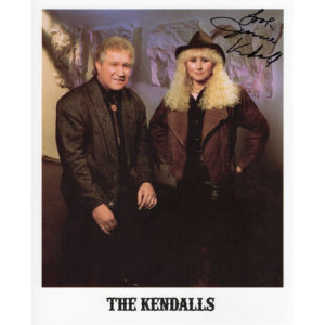 THE KENDALLS 8×10 Photo Autographed Signed