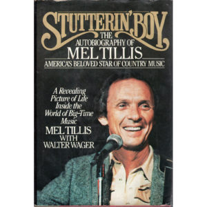 MEL TILLIS Stutterin' Boy The Autobiography of Mel Tillis Book Autographed Signed