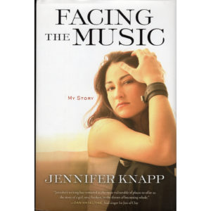 JENNIFER KNAPP Facing The Music Book Autographed Signed