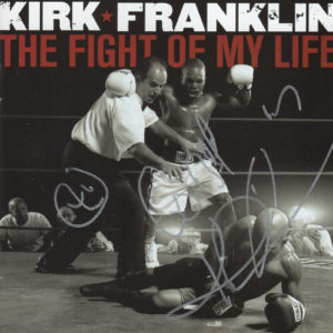 KIRK FRANKLIN The Fight Of My Life CD Autographed Signed