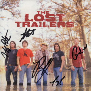 THE LOST TRAILERS Self-titled CD Autographed Signed