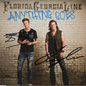 FLORIDA GEORGIA LINE Anything Goes CD Autographed Signed