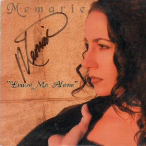 MEMARIE Leave Me Alone CD Single Autographed Signed