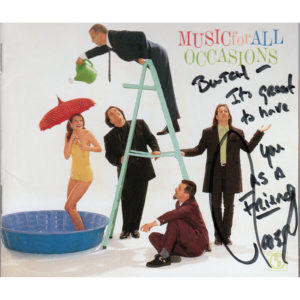 THE MAVERICKS Music For All Occasions CD Autographed Signed