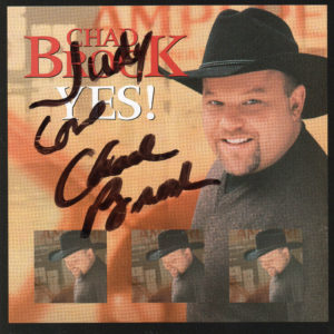 CHAD BROCK Yes! CD Autographed Signed