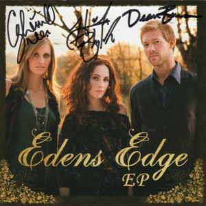 EDENS EDGE EP Autographed Signed