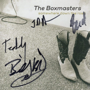 THE BOXMASTERS Somewhere Down The Road CD Autographed Signed