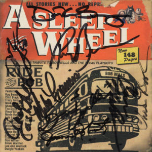 ASLEEP AT THE WHEEL Ride With Bob CD Autographed Signed