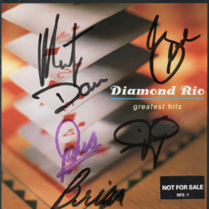 DIAMOND RIO Greatest Hits CD Autographed Signed