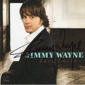 JIMMY WAYNE Sara Smile CD Autographed Signed