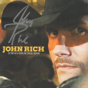 JOHN RICH Son Of A Preacher Man CD Autographed Signed