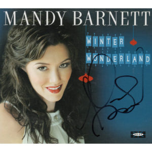 MANDY BARNETT Winter Wonderland CD Autographed Signed