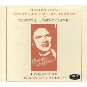 MANDY BARNETT The Original Nashville Cast Recording of Always…Patsy Cline CD