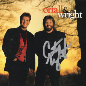 ORRALL & WRIGHT CD Autographed Signed