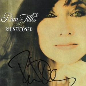 PAM TILLIS Rhinestoned CD Autographed Signed