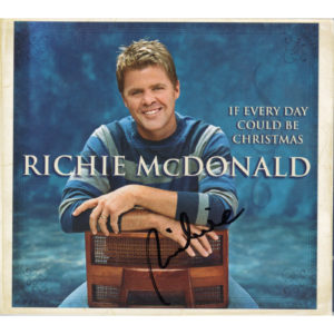 RICHIE MCDONALD If Every Day Could Be Christmas CD Autographed Signed