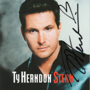 TY HERNDON Steam CD Autographed Signed