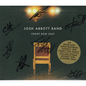 JOSH ABBOTT BAND Front Row Seat CD Autographed Signed
