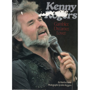 KENNY ROGERS Gambler, Dreamer, Lover Book Autographed Signed