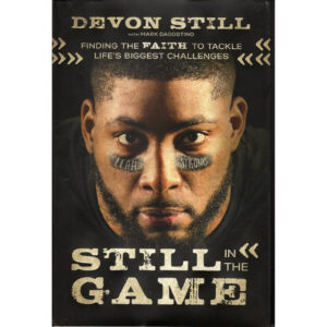 DEVON STILL Still In The Game Book Autographeed Signed