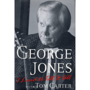 GEORGE JONES I Lived To Tell It All Book Autographed Signed