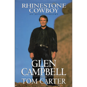 GLEN CAMPBELL Rhinestone Cowboy Book Autographed Signed