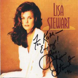 LISA STEWART Self Titled CD Autographed Signed